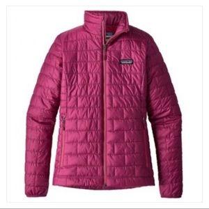 Patagonia nano puff pink EUC